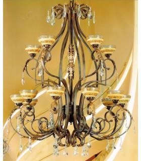LAMPARA DE TECHO ESTILO CLASICO, REF: DAFOR 2300/12