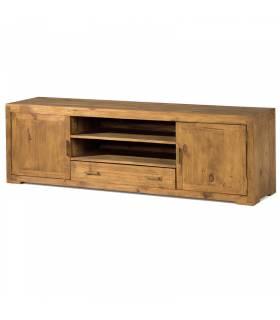 Mueble de tv estilo rustico