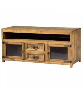 Mueble de tv estilo rustico coleccion modular home COLORES: pino anogalado