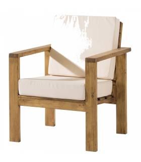 Sofa de estilo rustico , coleccion minimal