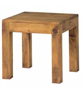 Mesa lateral de estilo rustico coleccion minimal