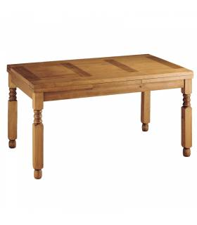 Mesa de comedor de estilo rustico coleccion mueble rustico