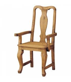 Sillón de estilo rustico colección mueble mejicano