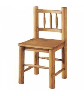 Silla de estilo rustico colección mueble mejicano.