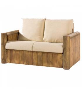 Sofa de estilo rustico coleccion mejicano