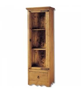 Vitrina de estilo rustico coleccion mueble mejicano