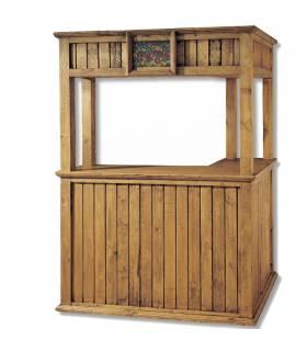 Mueble bar cantina de estilo