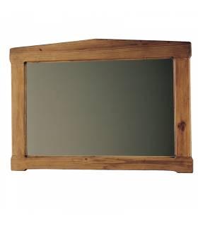 Espejo de estilo rustico