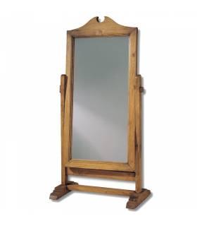 Espejo vestidor de estilo rustico