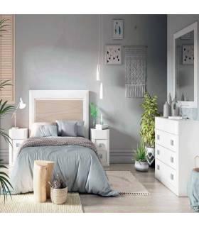 Conjunto dormitorio de pino