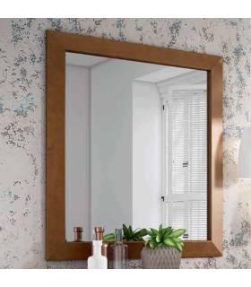 Espejo de pino