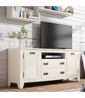 Mueble de Tv de estilo colonial