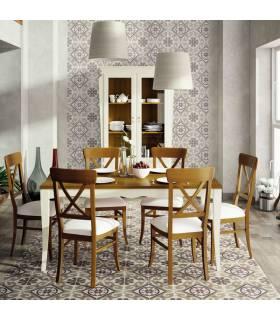 Mesa de comedor estilo clásico colección fontana