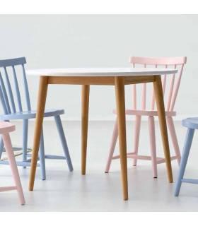 Mesa de comedor estilo nórdico colección provenza