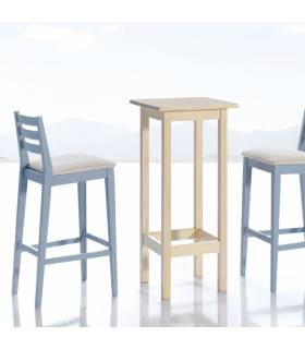 Mesa alta de estilo provenzal