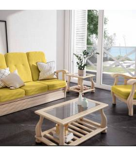 Mesa de centro de estilo provenzal