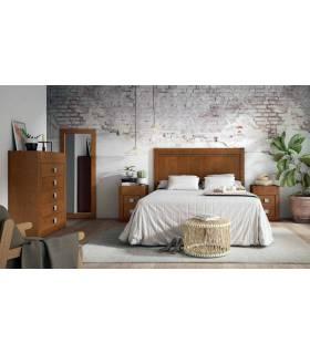 Dormitorio de pino moderno