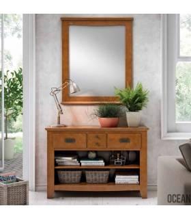 Consola + Espejo de estilo colonial
