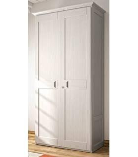 Armario de estilo clásico de dos puertas.