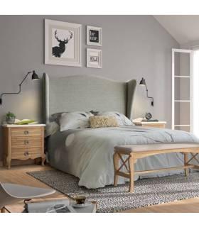 Conjunto de dormitorio de matrimonio de estilo clásico