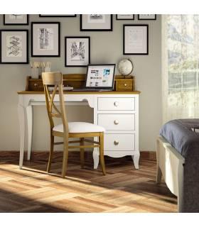 Escritorio de estilo clásico para dormitorios juveniles