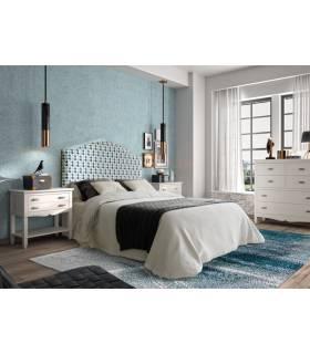 Conjunto de dormitorio de matrimonio, de estilo clásico.