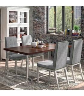 Mesa de comedor de estilo clásico colección Amberes