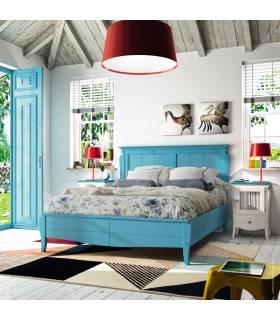Conjunto de dormitorio de madera para matrimonio