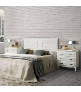 Conjunto de dormitorio de madera de estilo clásico