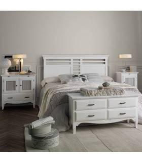 Conjunto de dormitorio de madera