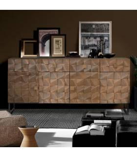 Aparador de madera de estilo vintage