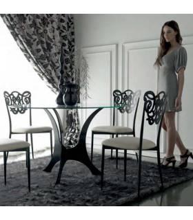 sillas de forja modelo Milos de máxima calidad