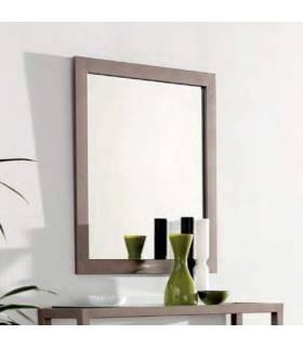 Espejo de forja de estilo moderno