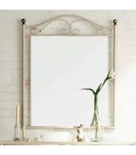 Espejo de forja de estilo clásico