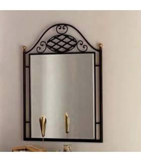 Espejo de forja de estilo clásico modelo verona