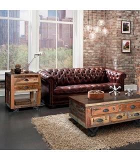 Mesa rincón de estilo vintage