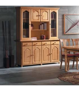 Vitrinas de madera de estilo provenzal