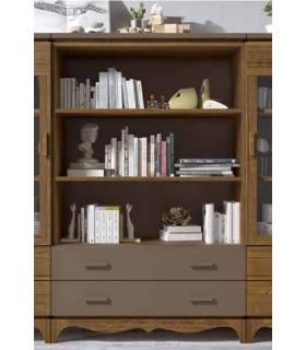 Librero de madera de calidad en estilo contemporáneo y a buen precio