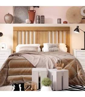 Cabezal de barrotes cama matrimonio
