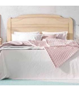 Cabecero para cama de 135 cm madera maciza color miel