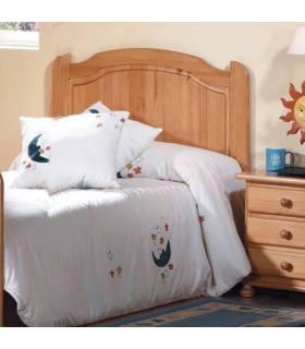 Cabecero para cama de 90 cm color miel
