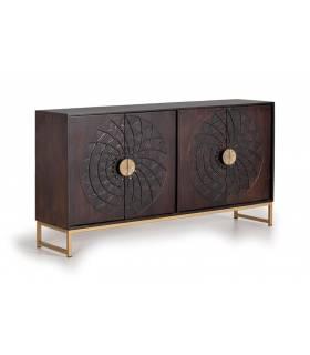 Aparadores de madera maciza de estilo vintage