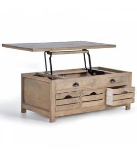 Mesas de centro de estilo vintage baratas