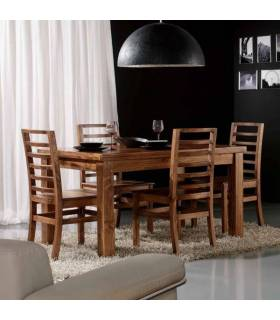 Mesas de comedor de estilo rustico