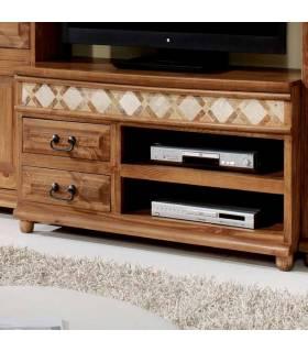 Mesas tv de estilo rústico a buen precio