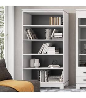 Libreros de madera maciza de pino