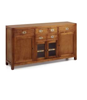 APARADOR BUFFET ESTILO COLONIAL COLECCION STAR, REF: 30134