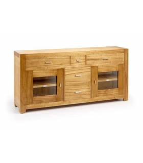 APARADOR BUFFET ESTILO COLONIAL COLECCION NATURAL, REF: 30950