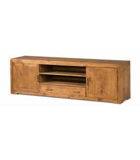 Mueble de Tv con dos puertas y un cajón