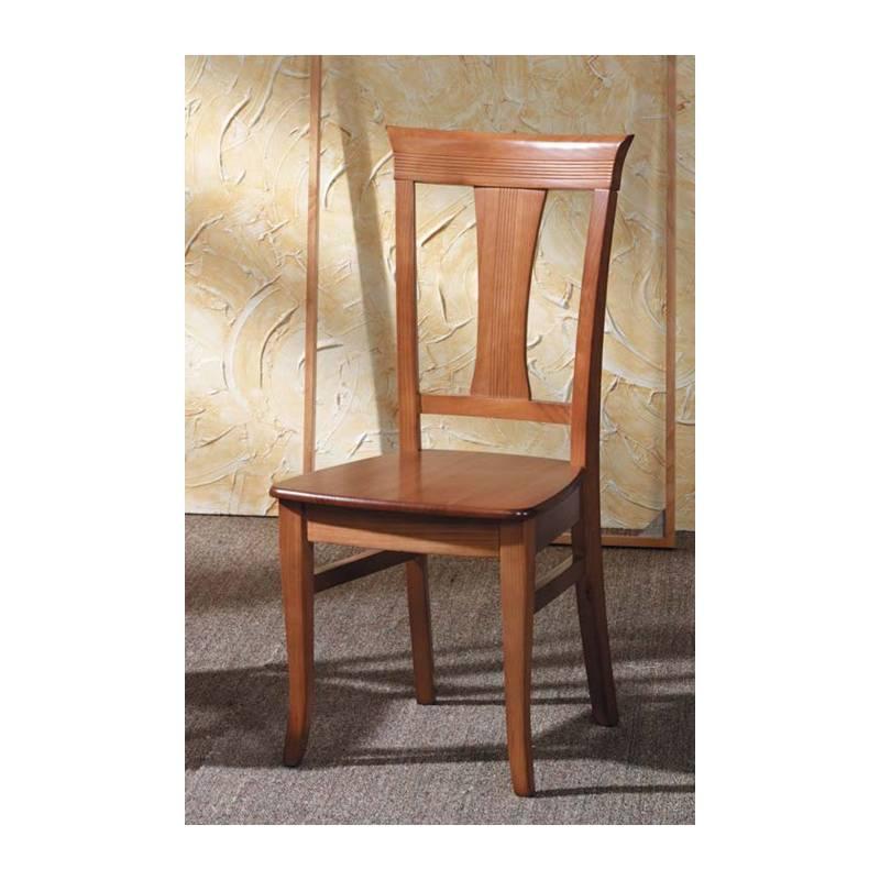 silla de madera cuatro patas
